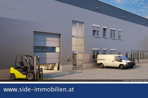 modernste Lager-/Gewerbeflächen sowie Büros zu mieten - Knoten Eibesbrunn A5/S1 - ausgezeichnete Verkehrsanbindung