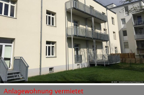 Unbefristet vermietete Anlagewohnung mit Balkon!
