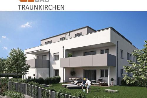"""Traunkirchen   """"Zusperren und ungebunden sein"""" - Helle Wohnung mit großem Balkon in zentraler Lage"""
