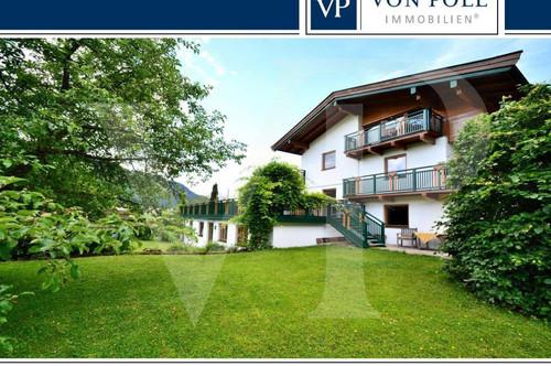 Imposantes Landhaus mit idyllischem Grundstück am Walchsee
