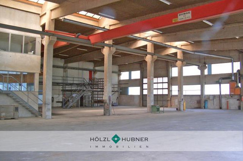 Robuste Halle mit Bürobereich und großer Freifläche