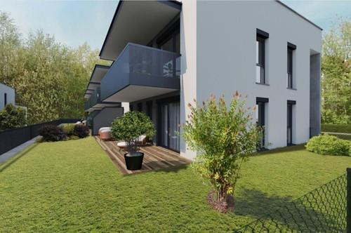 Höchste Wohnqualität im Premiumbezirk St.Peter   Gehobene Gartenwohnung mit 75m² Wohnfläche in idyllischer Lage   Erstbezug 2022