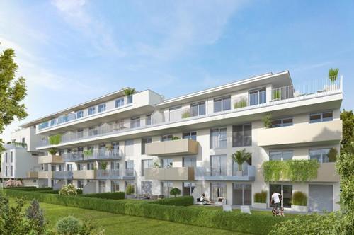 Gehobener Wohn(t)raum für Anspruchsvolle in ruhiger, gepflegter Umgebung | 3 Zimmer mit großer Terrasse | Erstbezug ab Anfang 2021