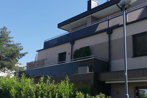Exklusive 2 Zimmer-Maisonettewohnung mit sonniger Panoramaterrasse- Kainahe Lage Aigen