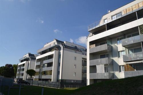 PÄRCHENHIT! Sonnige 51 m2 Neubau inkl. 12 m2 Loggia, 2 Zimmer, Komplettküche, Duschbad, Ruhelage, Widerinstraße