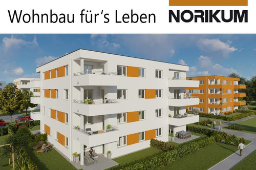 Wels, Wohnpark Zellerstraße Süd - Eigentumswohnung mit Loggia/Balkon D2/10/2.OG