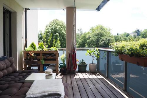 Froschberg! Sehr schöne 3-Zimmer-Wohnung mit großem Balkon, Küche + Bad möbliert (ohne Ablöse), Tiefgaragenplatz!