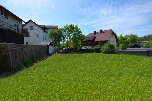 Baugrundstück in Gmunden.