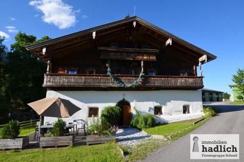 Historisches Bauernhaus nahe Zell am See mit touristischer Vermietung zu verkaufen!