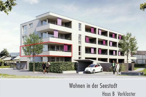 """Neubauprojekt: Mehrfamilienhaus """"Bregenz Vorkloster"""" - 4 Zimmerwohnung zu verkaufen!"""