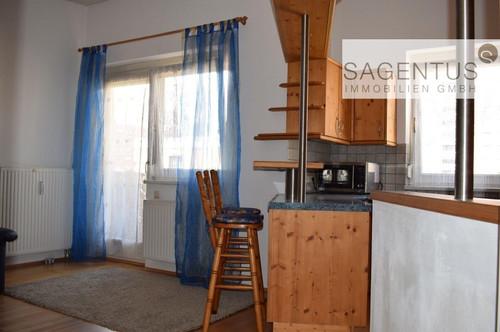 Anlegerobjekt: Schöne Dachgeschosswohnung, 2 Zimmer mit großem Balkon in Neu-Rum bei Innsbruck