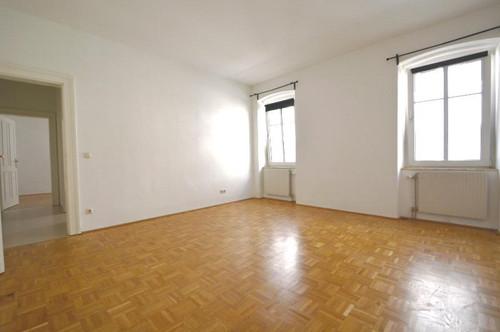 Linz-Urfahr: 3 getrennt begehbare Zimmer, extra Küche - WG-geeignet