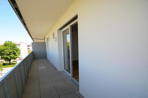 Wohlfühlen in der Vorstadt - Top gepflegte, neuwertige 2-Zimmer-Wohnung mit großem Balkon!