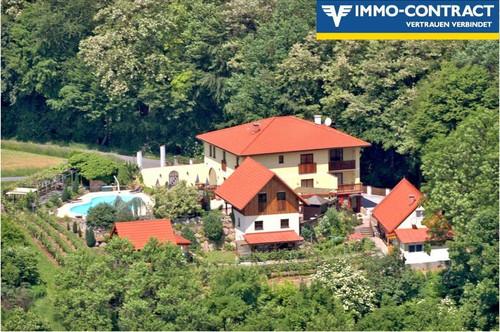Gästehaus mit Pool in Traumlage - Mitten in der steirischen Toskana - Absolute Ruhelage!