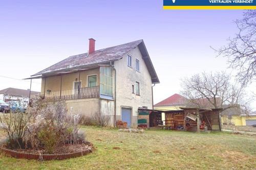 Nettes Haus in sonniger Dorfruhelage mit schönem Garten