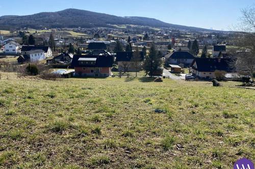 Sonniges Baugrundstück mit herrlichem Ausblick in Bad Gleichenberg ...!