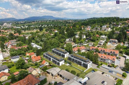 ITH TRAUMLAGE in St. PETER! PROVISIONSFREIE EXKLUSIVE MAISONETTEN-WOHNUNG mit STADTBLICK und mit 160 m² EIGENGARTEN, 97 m² WFL! FINANZIERUNGSBERATUNG.