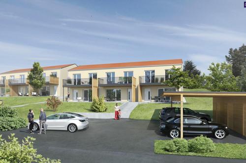 WOW - 4 Zimmer: Feine Maisonetten-Wohnung mit einladenden Garten + Carport