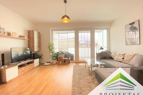 Traumhafte 3 Zimmer Neubauwohnung mit Küche und Loggia mit Pöstlingbergblick!