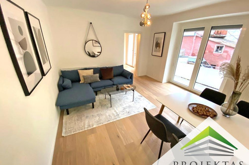 Generalsanierte 2 Zimmerwohnung mit 2 Balkonen im beliebten Alt-Urfahr! 360 Grad Rundgang online!