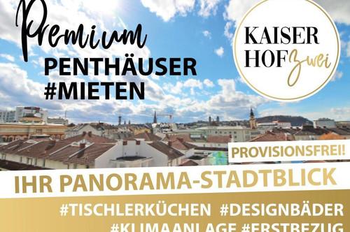 2-Zimmer-PENTHOUSE KAISERHOF 2 | ERSTBEZUG - PROVISIONSFREI