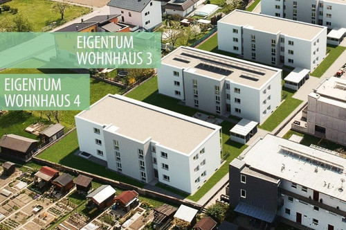 Zügiger Baufortschritt! Perfekt geplante 2-Zimmer Gartenwohnung in Ottensheim (Förderung vom Land OÖ!)