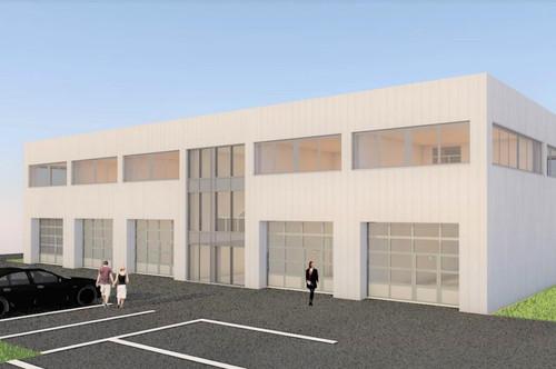 Moderner Neubau - Lager in zentraler Lage mit vielen Optionen!