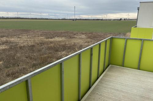 360° Rundgang - Wohnung Baujahr 2017 mit SO-Balkon (ca. 7 m²) in Gänserndorf-Süd