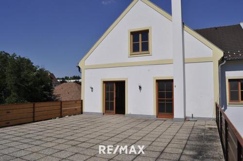 98 m2 Terrasse mit Wohnung in der Neusiedler City