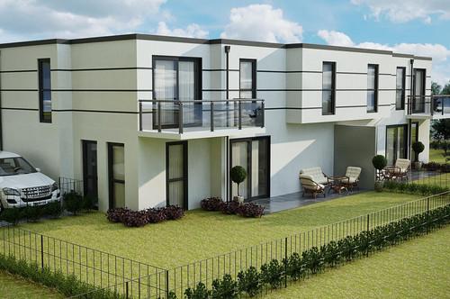 Ebenerdiges Baugrundstück für 2 Doppelhaushälften oder 3 Einfamilienhäuser unweit der Hauptstraße/Bahnhof Mödling!!