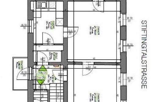 PROVISIONSFREI FÜR DEN MIETER! Erstbezug nach Generalsanierung! Schöne 2 Zimmer Wohnung in der Stiftingtalstraße!