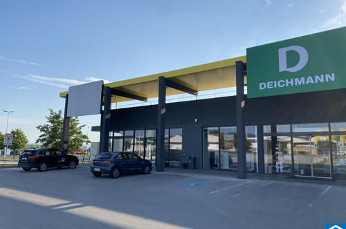 Geschäftsfläche im Fachmarktzentrum Mattersburg