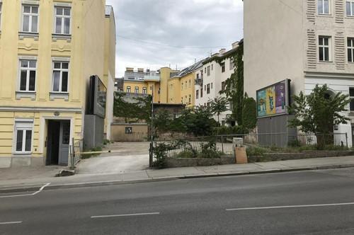 Freilager nahe U3 Johnstraße
