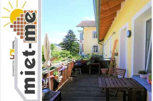 - miet-me - TIPP - idyllische Balkonwohnung