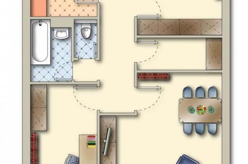 Familienwohnung mit Aussicht