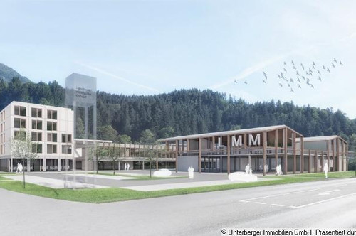 Büro-, Praxis-, Handels- und Gewerbeflächen im Neubauprojekt Habach Park Kirchdorf i. T. (Miete oder Kauf!)