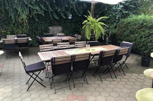 traditionelles Café mit Gastgarten - auch für Jungunternehmer geeignet