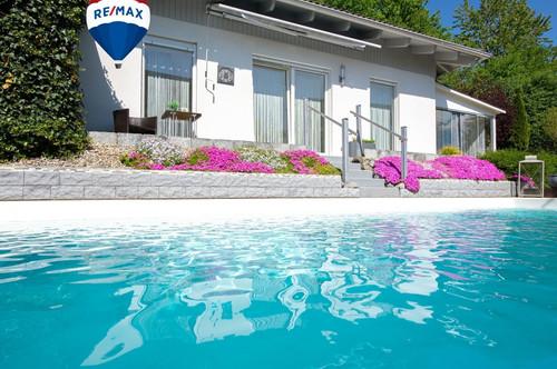 Edler Bungalow - Naturparadies, Pool und Whirlpool