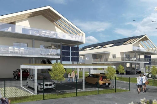 Neubau Gartenwohnung mit Seezugang in Bad Gams/Top 1 Haus A