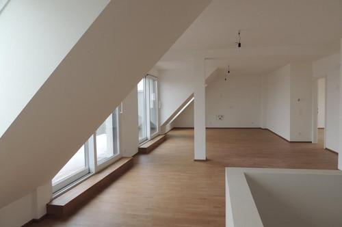 1210 Wien, Neubau/Niederenergiehaus mit NUR 10 Wohneinheiten, fertiggestellt! 140 m2 Dachterrassen-Maisonette plus 14,42 m2 Terrasse, RUHELAGE mit WEITBLICK Euro 695.200.--