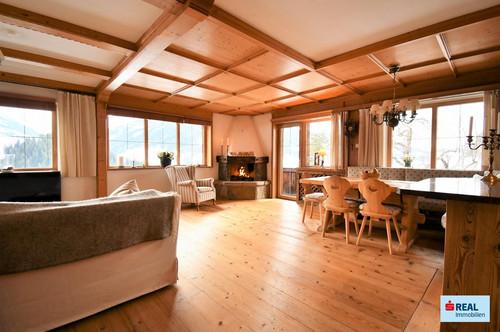 Alpbach – Repräsentative 4 Zimmer Wohnung in sonniger Panoramalage mit ca. 124 m²