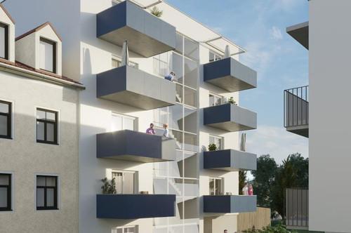 Provisionsfreie Neubauwohnung in St.Leonhard in TU-Nähe! 2 Zimmer - 40m² - 1.OG