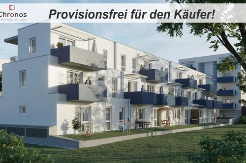 PERFEKTE WERTANLAGE NEBEN TU INFFELD! Provisionsfreie Neubauwohnung in St.Leonhard! 2 Zimmer - 37m² - 1.OG