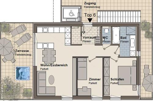 Exklusives Wohnflair im Premiumbezirk St. Peter - Nähe ORF-Park