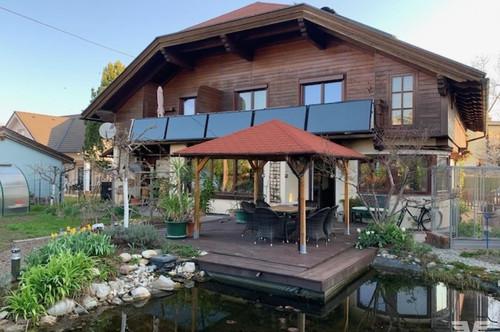 Wunderschönes Mehrfamilienhaus mit Teich in Salzburg Liefering