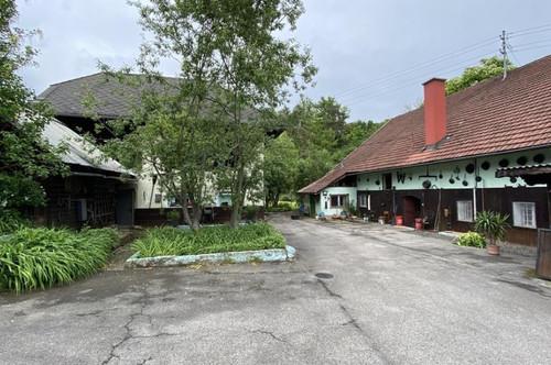 Längsee Nähe, alter Bauernhof mit Gewölbe u.alten Holzdecken