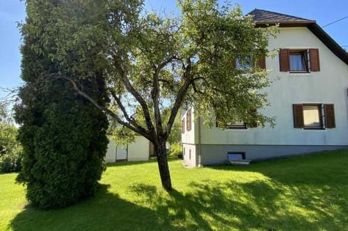 Metnitztal nettes Haus in Grades, ruhige, sonnige Ortsrandlage