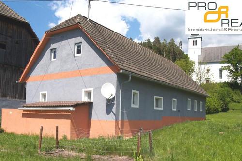 Sanierungsfall! Kleiner Bauernhof+Stadl in Sonnenlage