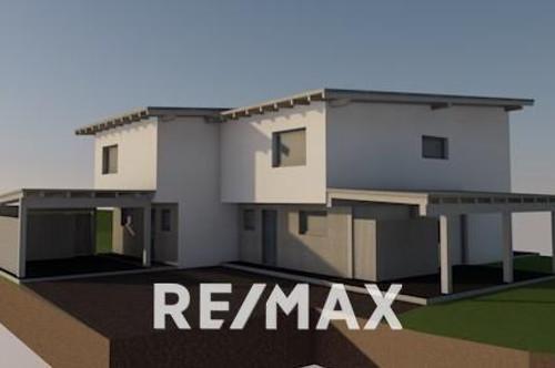 Modernes Doppelhaus inklusive Grund und Carport!