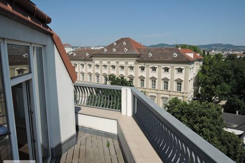 SERVITENVIERTEL | LIECHTENSTEINPARK - Dachterrassenwohnung mit Traumblick in bester Lage